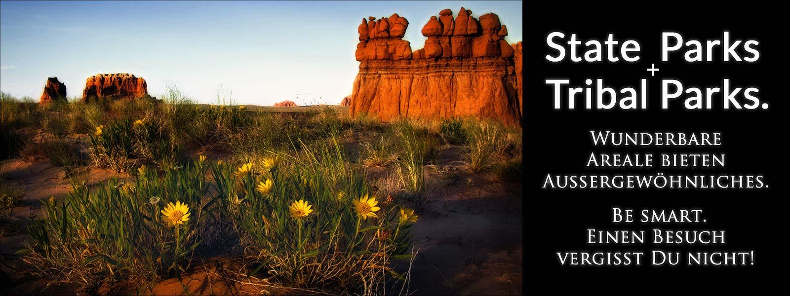 USA State Parks und Tribal Parks